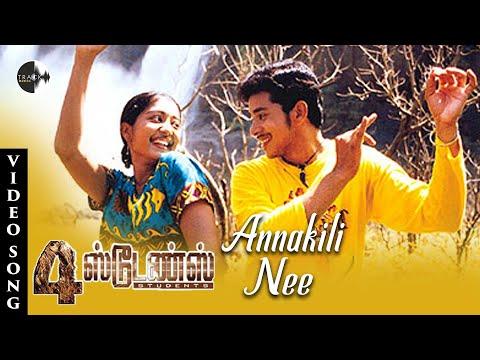 Annakili Hd Song  4 Students Movie  Bharath  Gopika  Jassie Gift  Track Musics