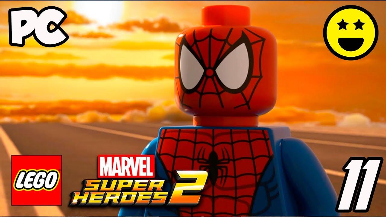 Supereroi marvel 2 lego ita video di giochi di cartoni animati in