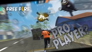 NOOB PLAYER BUSTING HEADS IN FREE FIRE 🔥