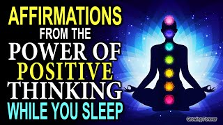 """Powerful Wealth Affirmations From """"The Power of Positive Thinking"""" by Norman Vincent Peale"""