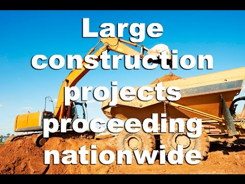 Construction News Tracker: Large Companies Proceeding With Construction Projects Nationwide