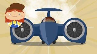 Доктор Машинкова - Самый быстрый автомобиль - Мультфильмы про машинки
