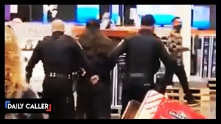Woman Refusing To Wear Mask Arrested