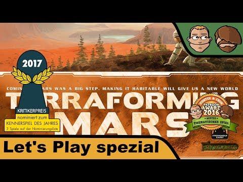 Terraforming Mars - Brettspiel - Let