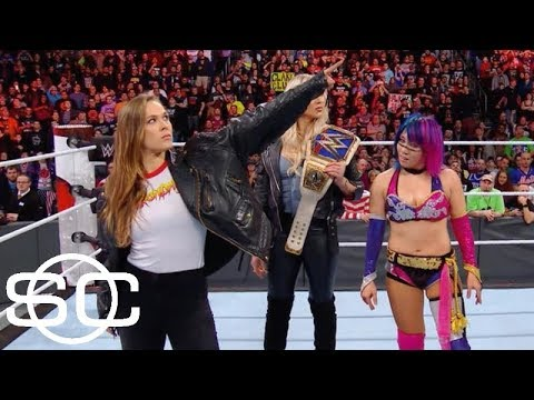 Ronda Rousey isn't the first star athlete to cross over into WWE   SportsCenter   ESPN