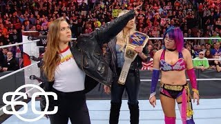 Ronda Rousey isn't the first star athlete to cross over into WWE | SportsCenter | ESPN