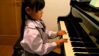 丁寧に弾いていますね。 音をのばすのは子供にはむずかしいのですが、心...