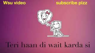 Aaj din valentine   dil punjabi song stutes