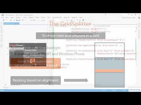 XAML GridSplitter introduction | Pluralsight - Самые лучшие