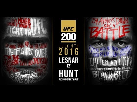 UFC 200 Results and review - Brock smashes...