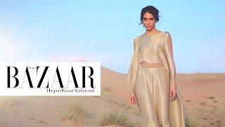 Baixar Jessica Kahawaty for Harper's Bazaar Arabia January 2017