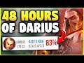 I PLAYED DARIUS NONSTOP FOR 2 DAYS! HERE'S WHAT I LEARNED - League of Legends