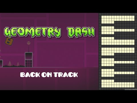 Geometry Dash - Back On Track [Piano Cover]