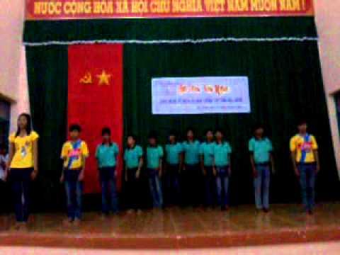 Trường DTNT Hậu Giang múa aerobic lớp 10a1 2013
