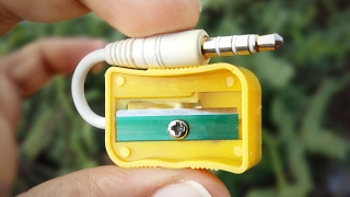 Repeat youtube video 6 Life Hacks for Sharpener YOU SHOULD KNOW