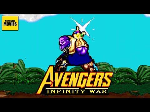 The Thanos Snap - 16 Bit Scenes