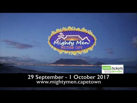 Dmitri Murray, Presenter at Radio Cape Pulpit endorses Mighty Men Western Cape 2017
