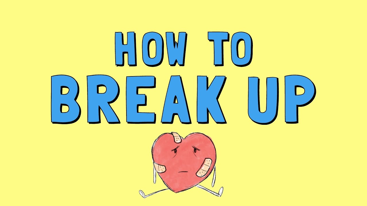 How to break up with someone you are not dating