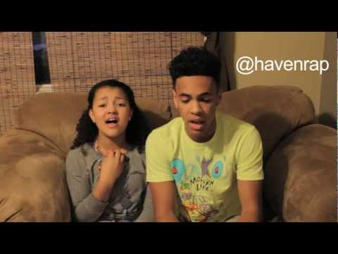 Rihanna - Diamonds Cover (Haven and Tay-Tay)