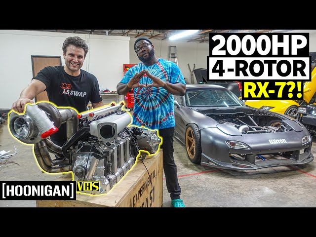 The Wildest RX-7 Build Ever? Visiting Rob Dahm's Rotary Palace