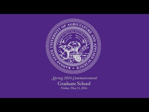 K-State Commencement - Spring 2016 | Graduate School
