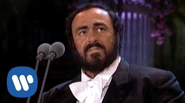 luciano pavarotti  ave maria schubert