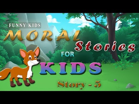 The Brave Fox Story | Moral Stories For Kids | Funny Videos | Funny Kids