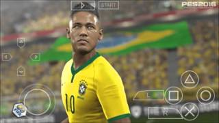 PES 16 - PPSSPP #GamePlay
