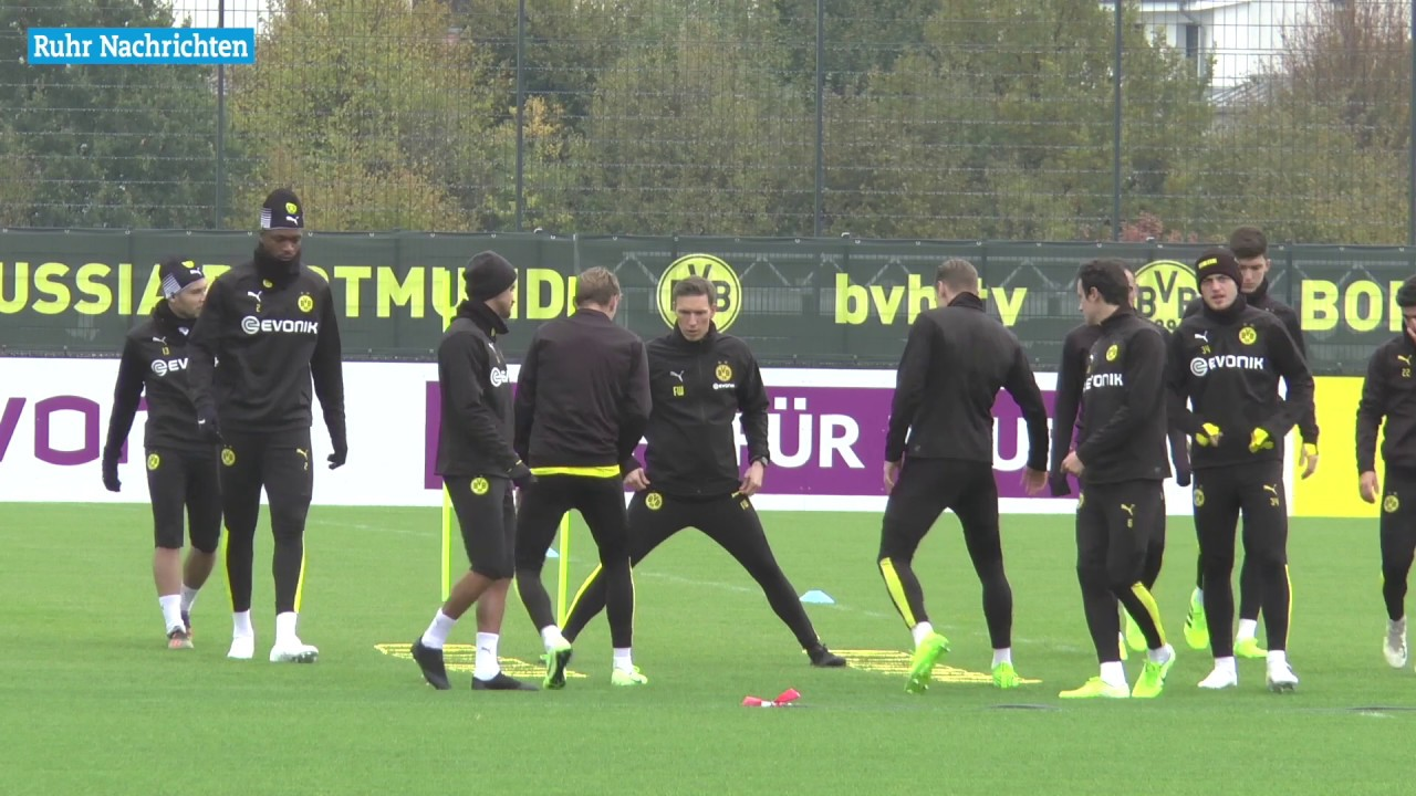 BVB-Training am Tag nach dem Mailand-Spiel