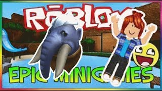THE MAMMOUTH UF!! Roblox Epic minigames