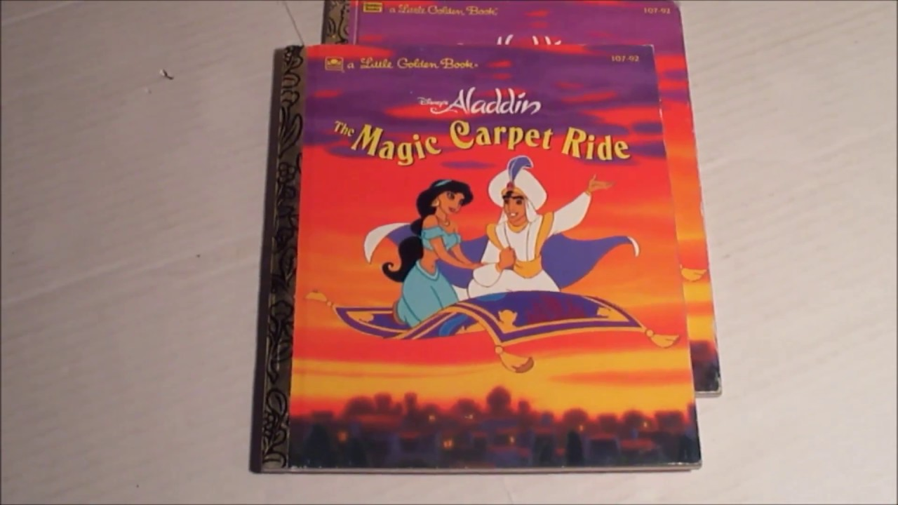 Little Golden Book Collecting - Aladdin The Magic Carpet ...