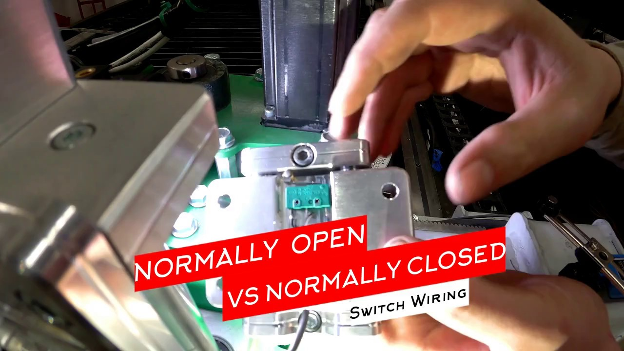 medium resolution of how to wire normally open no vs normally closed nc switch