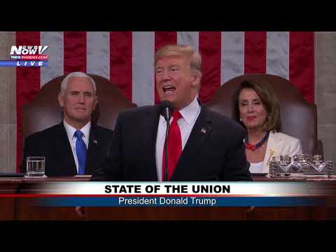 FULL STATE OF THE UNION: President Trump Addresses Nation from House Chamber (FNN)