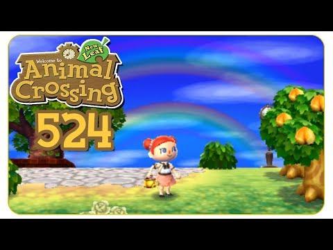 zwei-regenbögen-fürs-glück!-♥-#524-animal-crossing:-new-leaf---gameplay-let's-play