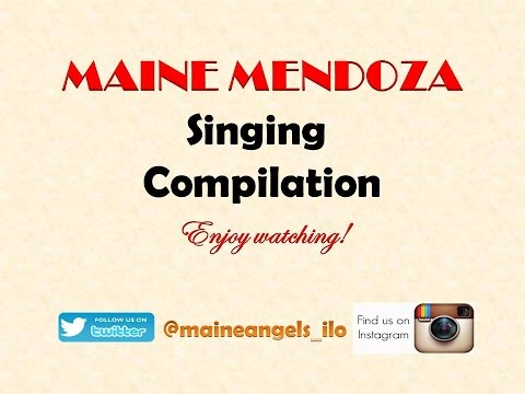 Maine Mendoza Singing Compilations