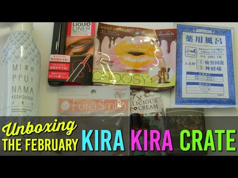 KIRA KIRA CRATE Unboxing and Review! Japanese Beauty Box ...
