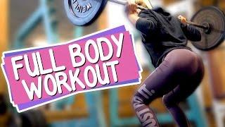 Mein FULL BODY GYM Workout + Große Ankündigung | Sophia Thiel