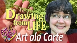 How to IMPROVE your ART:  Drawing from Life