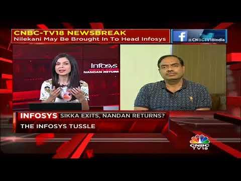 Nandan Nilekani May Be Brought In To Head Infosys