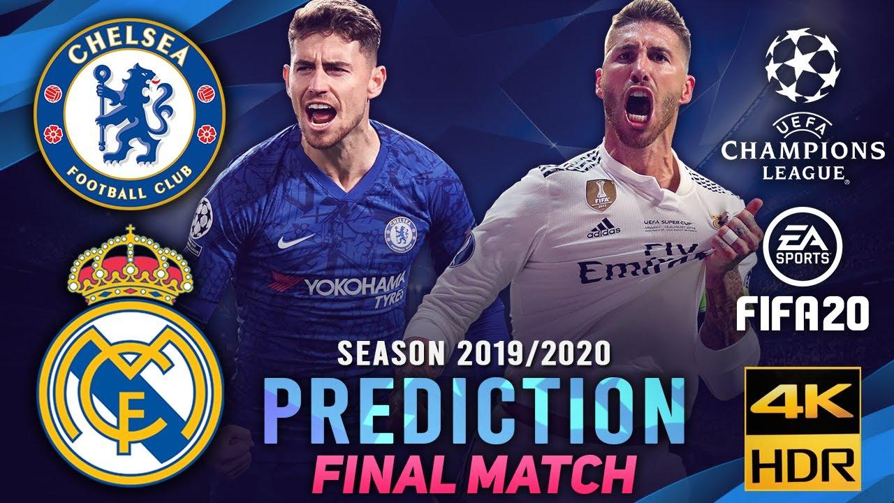 Chelsea vs Real Madrid | FIFA 20 Predicts: Champion League ...