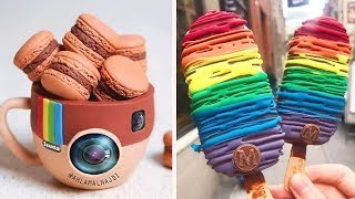 How To Make Colorful Cake For Party  Easy Dessert Recipes  So Yummy Heart Cake Tutorials