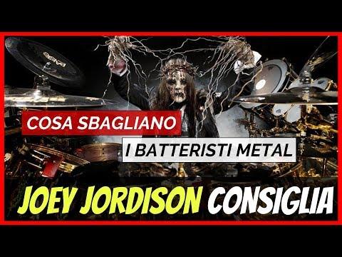 Joey Jordison Da Un Consiglio ai Batteristi Metal