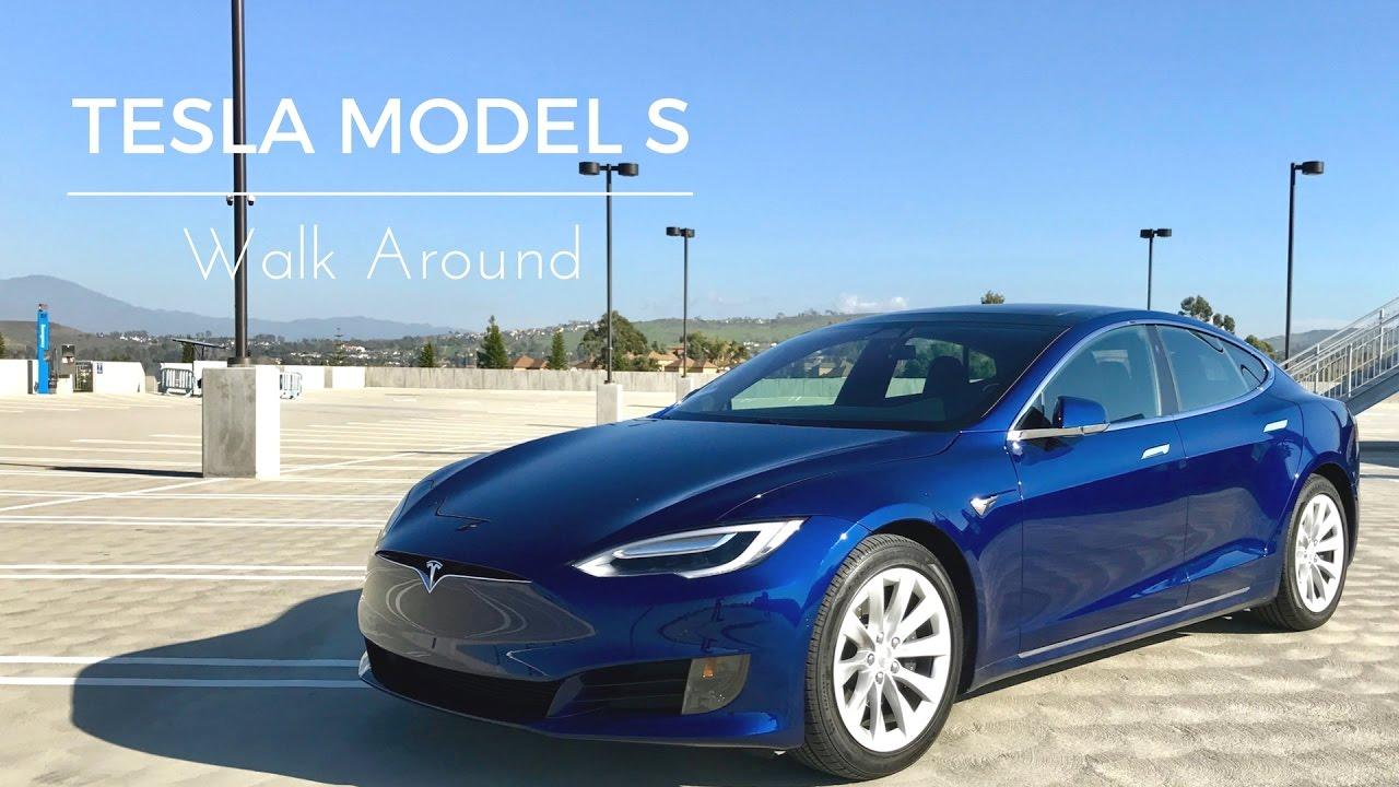 Tesla Model S Walk Around Youtube