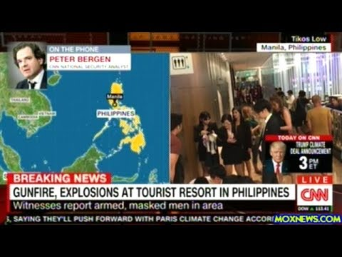 "BREAKING! Explosions And Gunfire Reported At ""Manila"" Casino Resort In Philippines"