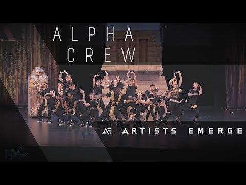 [I.C.O.N. AWARD] ALPHA CREW |  Varsity Advanced  |  Artists Emerge 2018