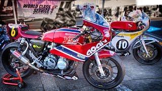 HONDA CB400 & CB350FOUR TOT Racer by AGAIN
