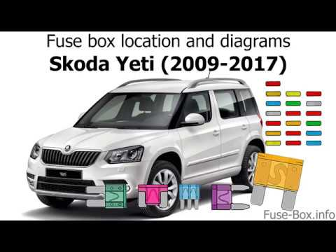 fuse box location and diagrams: skoda yeti (2009-2017)