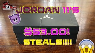 jordan 11s for 53 00 b grade unauthorized or authentic