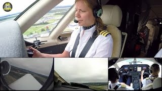 Katharina's ROCKET Takeoff for a Transatlantic Crossing on a Citation Sovereign [AirClips]