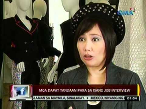 24 Oras: Mga dapat tandaan para sa isang Job Interview